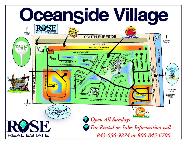 Oceanside Village Area Maps